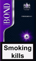 Bond Compact Premium Mix Cigarettes pack
