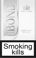 Bond Compact Silver Cigarettes pack