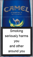 Camel Compact Activate Cigarettes pack