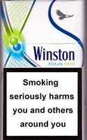 Winston XStyle Duo Menthol Cigarettes pack
