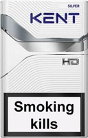 Kent HD Silver 4 Cigarettes pack