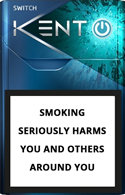 Kent Switch Menthol Cigarettes pack