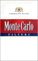 Monte Carlo Red Cigarettes pack