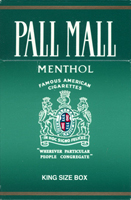 Pall Mall Menthol Cigarettes pack