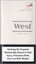 West White Compact Cigarettes pack